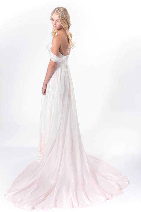 Before Sunset (back) Wedding                                          dress by Claire La Faye