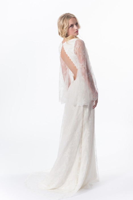 Clementine Gown (back) Wedding                                          dress by Claire La Faye