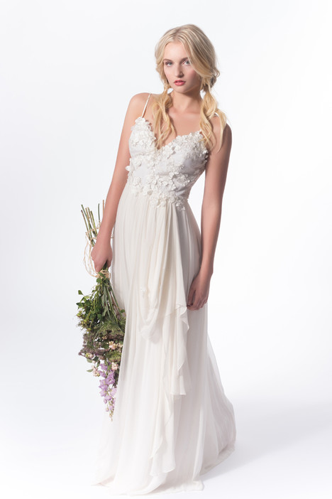Flowers for Zoe gown from the 2015 Claire La Faye collection, as seen on dressfinder.ca