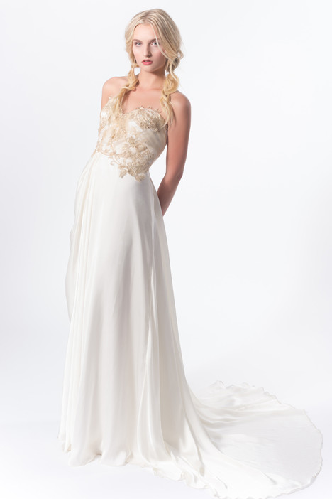 Marigold gown from the 2015 Claire La Faye collection, as seen on dressfinder.ca