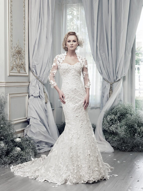 Papillon + Jacket Wedding                                          dress by Ian Stuart