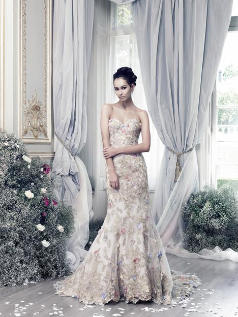 Papillon (lilac) Wedding                                          dress by Ian Stuart