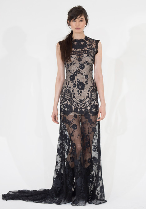 Cheyenne (black) Wedding                                          dress by Claire Pettibone: Couture