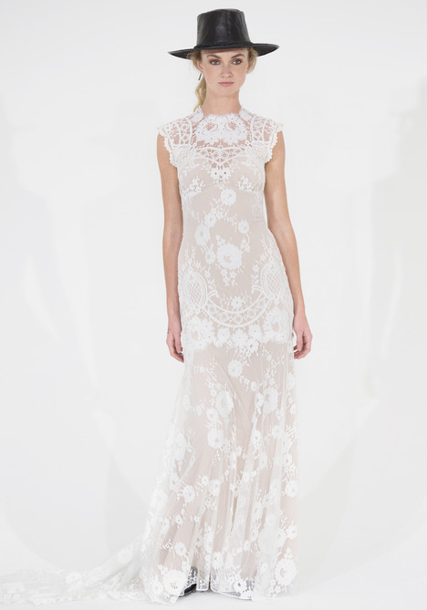 Cheyenne gown from the 2016 Claire Pettibone: Couture collection, as seen on dressfinder.ca