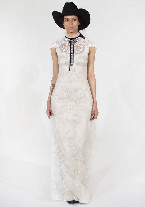 Jesse Wedding                                          dress by Claire Pettibone: Couture