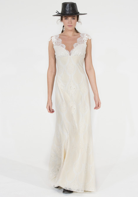 Montana Wedding                                          dress by Claire Pettibone: Couture