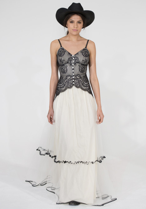 Shawnee (black) Wedding                                          dress by Claire Pettibone: Couture