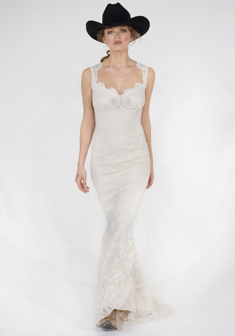 Wyoming Wedding                                          dress by Claire Pettibone Couture