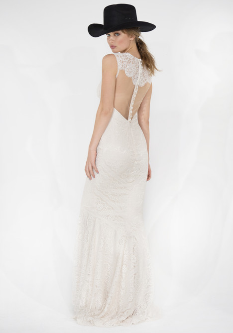 Wyoming (back) Wedding                                          dress by Claire Pettibone Couture