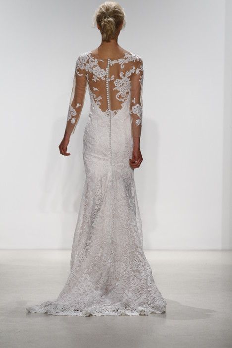 Sena (back) Wedding                                          dress by Kelly Faetanini