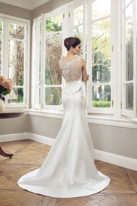 M1400Z (back) Wedding                                          dress by Mia Solano