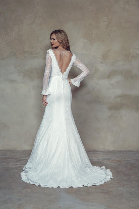 M1500Z (back) Wedding                                          dress by Mia Solano
