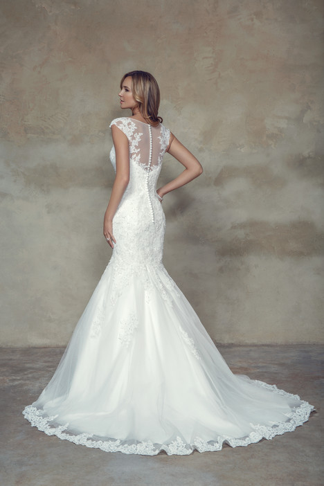 M1502Z (back) Wedding                                          dress by Mia Solano