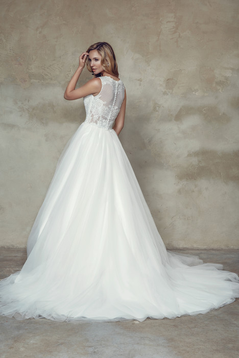 M1530Z (back) Wedding                                          dress by Mia Solano