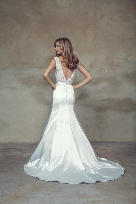 M1538Z (back) Wedding                                          dress by Mia Solano