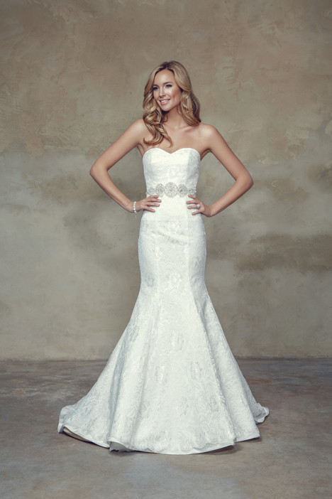 M1542L + Belt Wedding                                          dress by Mia Solano