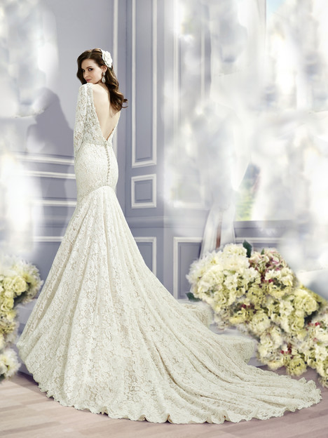 H1282 (back) Wedding                                          dress by Moonlight : Couture