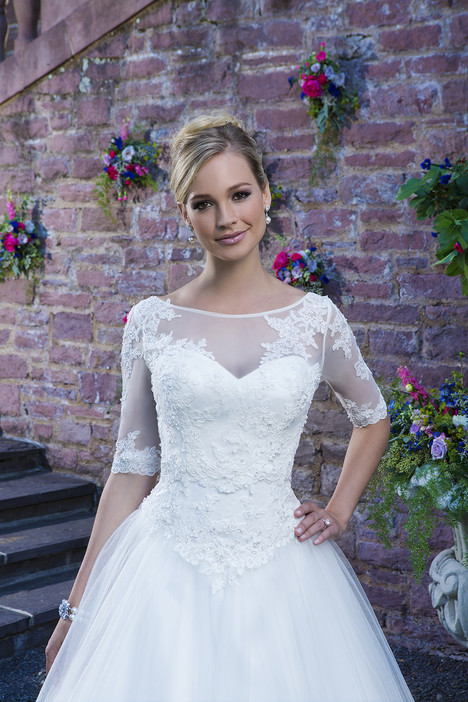 3870 + Jacket Wedding                                          dress by Sincerity