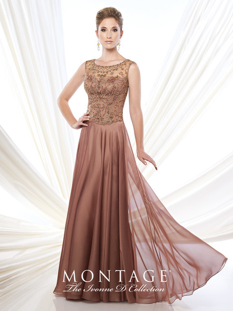215D12 (lt. copper) Mother of the Bride                              dress by Montage : Ivonne D Collection