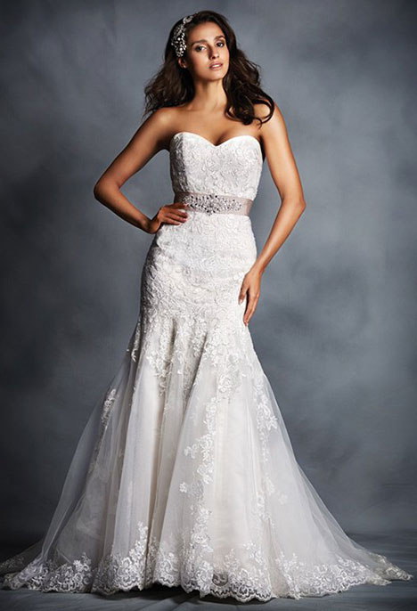 2506 Wedding dress by Alfred Angelo