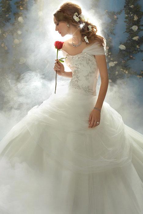 206 Belle Wedding dress by Alfred Angelo : Disney Fairy Tale Bridal