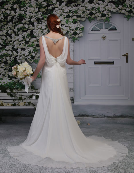 PA9174 (back) Wedding dress by Venus Bridal: Pallas Athena