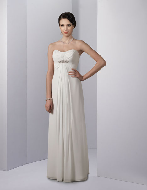 VN6713 Wedding                                          dress by Venus Informal