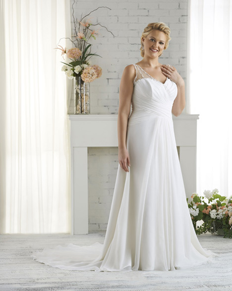1521 gown from the 2015 Bonny Bridal collection, as seen on dressfinder.ca