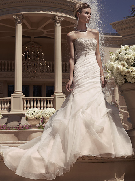 2107 Wedding dress by Casablanca Bridal