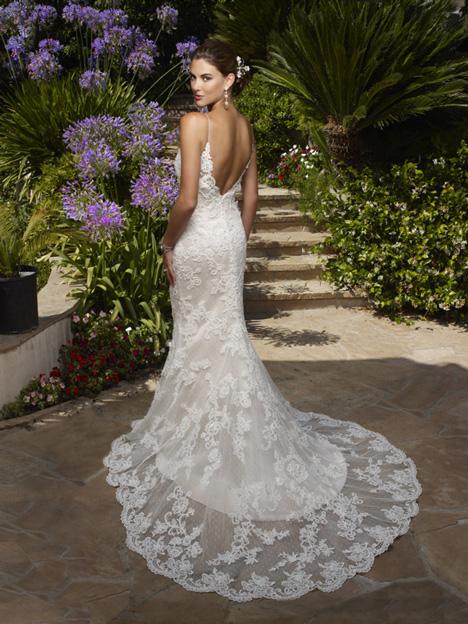 1975 (back) Wedding                                          dress by Casablanca Bridal