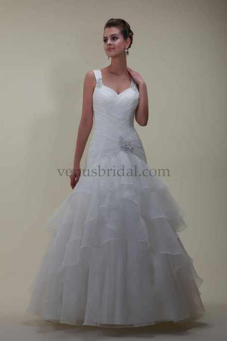 VN6792 Wedding                                          dress by Venus Informal
