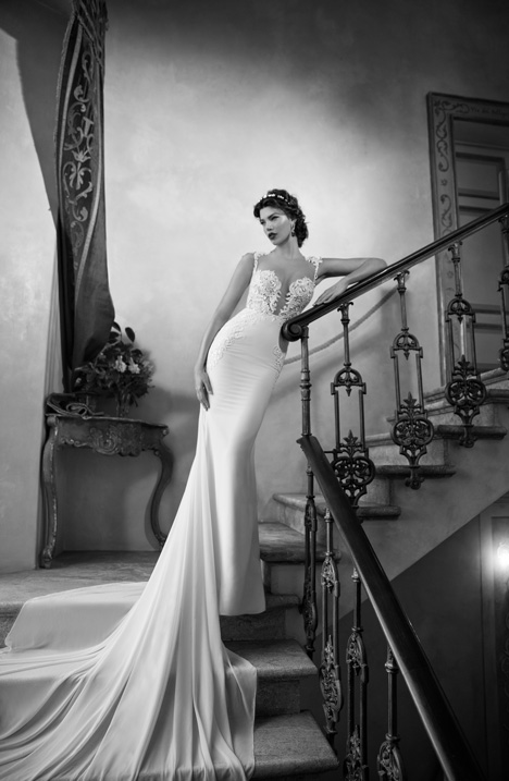15-03 gown from the 2015 Berta Bridal collection, as seen on dressfinder.ca
