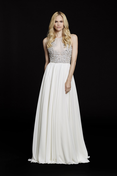 Ellie (6551) gown from the 2015 Hayley Paige collection, as seen on dressfinder.ca
