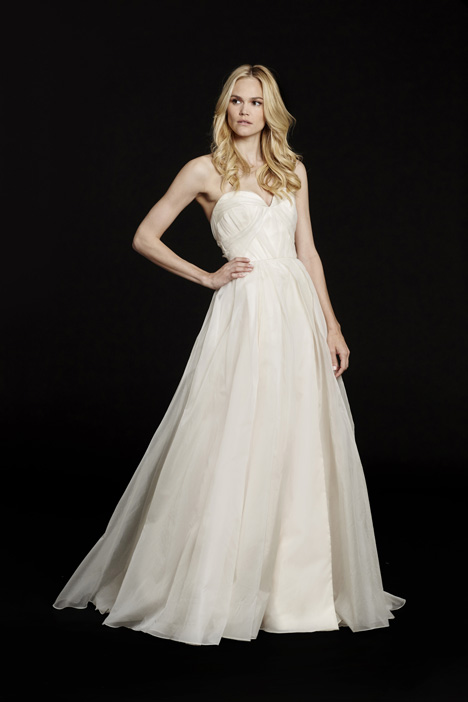Peyton (6555) gown from the 2015 Hayley Paige collection, as seen on dressfinder.ca