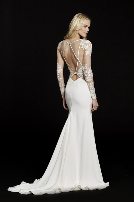 Mona (6559) (2) gown from the 2015 Hayley Paige collection, as seen on dressfinder.ca