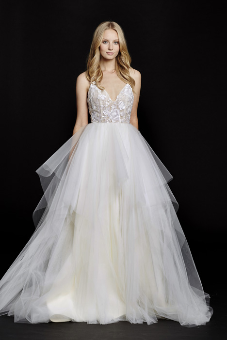 Nicolette (6560) gown from the 2015 Hayley Paige collection, as seen on dressfinder.ca