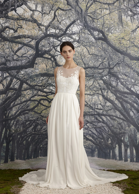 Savannah Wedding                                          dress by Nicole Miller