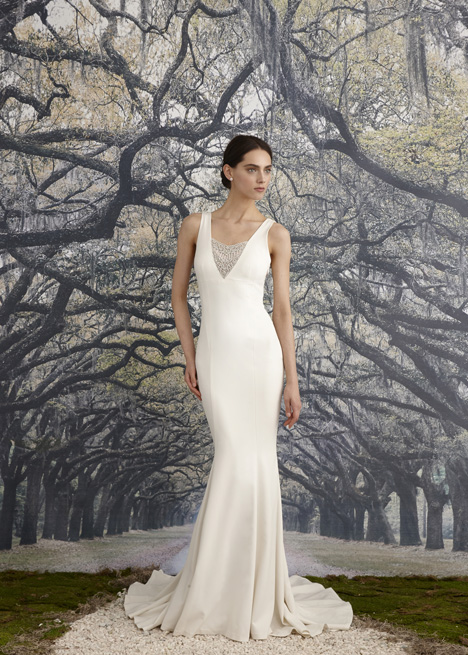 Jules Wedding                                          dress by Nicole Miller