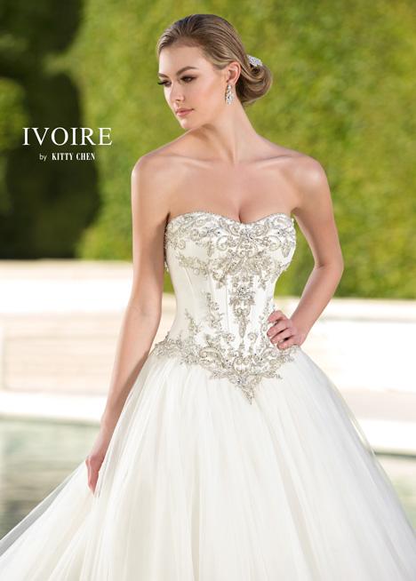 Regina Wedding                                          dress by KittyChen Ivoire