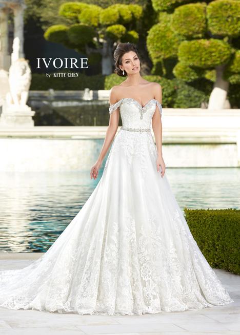 Tabitha Wedding                                          dress by KittyChen Ivoire