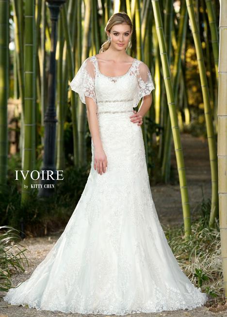 Jillian Wedding                                          dress by KittyChen Ivoire