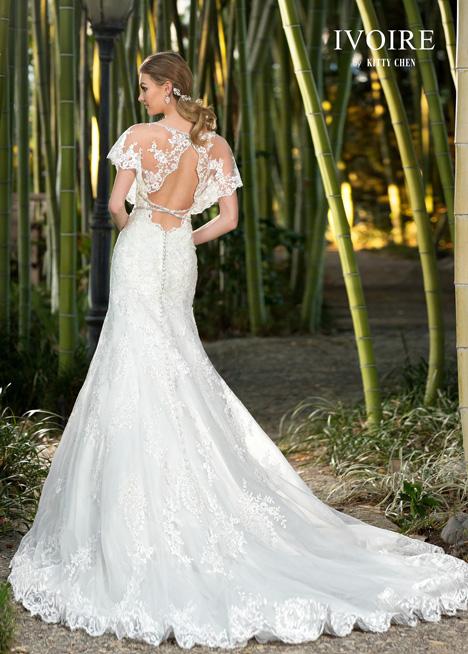 Jillian (2) Wedding                                          dress by KittyChen Ivoire