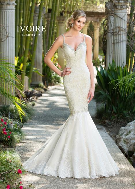 Rochelle Wedding                                          dress by KittyChen Ivoire