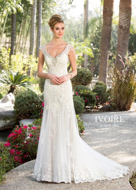 Blaire Wedding                                          dress by KittyChen Ivoire