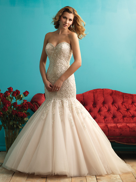 9275 gown from the 2015 Allure Bridals collection, as seen on dressfinder.ca