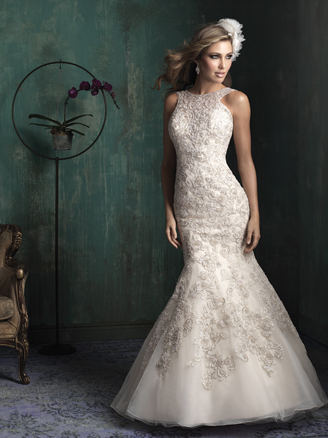 C344 Wedding                                          dress by Allure Bridals : Allure Couture