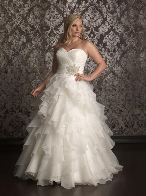 W314 Wedding                                          dress by Allure Women