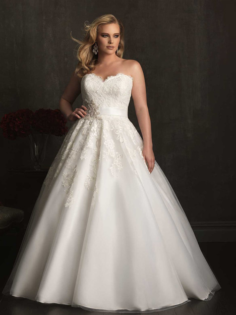 W320 Wedding                                          dress by Allure Bridals : Allure Women