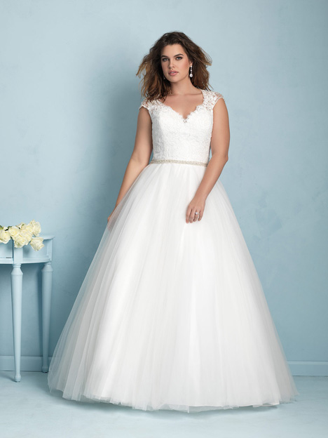 W350 Wedding dress by Allure Women