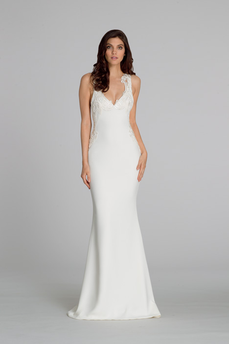 Style 2550 gown from the 2015 Tara Keely by Lazaro collection, as seen on dressfinder.ca